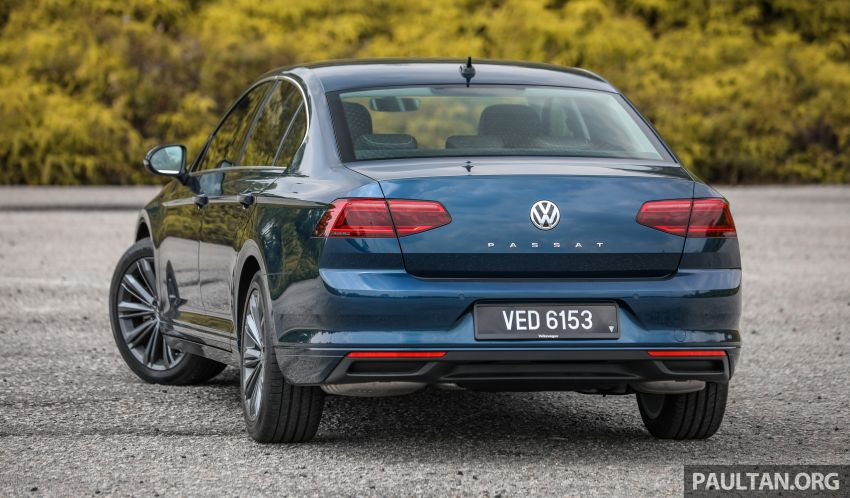 FIRST DRIVE: 2020 Volkswagen Passat 2.0 TSI review Image #1074726
