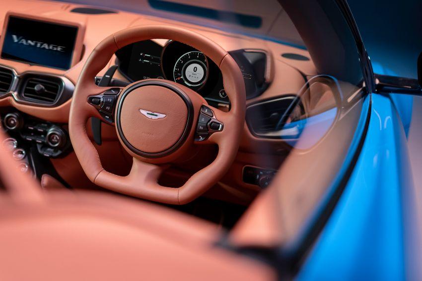 Aston Martin Vantage Roadster 2020 – guna enjin V8 twin turbo 4.0 liter, kuasa 510 PS dan tork 685 Nm Image #1081360