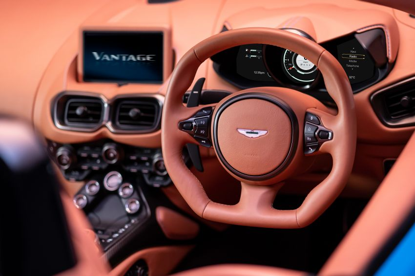 Aston Martin Vantage Roadster 2020 – guna enjin V8 twin turbo 4.0 liter, kuasa 510 PS dan tork 685 Nm Image #1081358