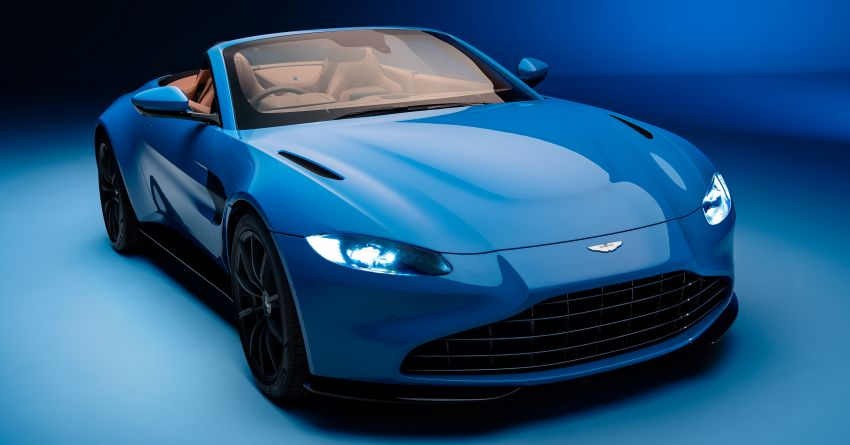 Aston Martin Vantage Roadster 2020 – guna enjin V8 twin turbo 4.0 liter, kuasa 510 PS dan tork 685 Nm Image #1081369