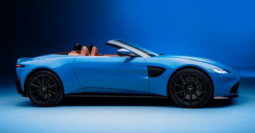 Aston Martin Vantage Roadster 2020 – guna enjin V8 twin turbo 4.0 liter, kuasa 510 PS dan tork 685 Nm Image #1081368