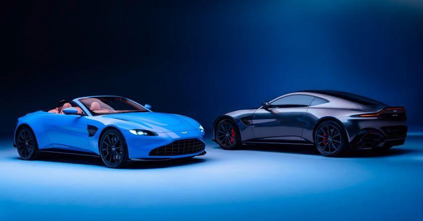 Aston Martin Vantage Roadster 2020 – guna enjin V8 twin turbo 4.0 liter, kuasa 510 PS dan tork 685 Nm Image #1081366
