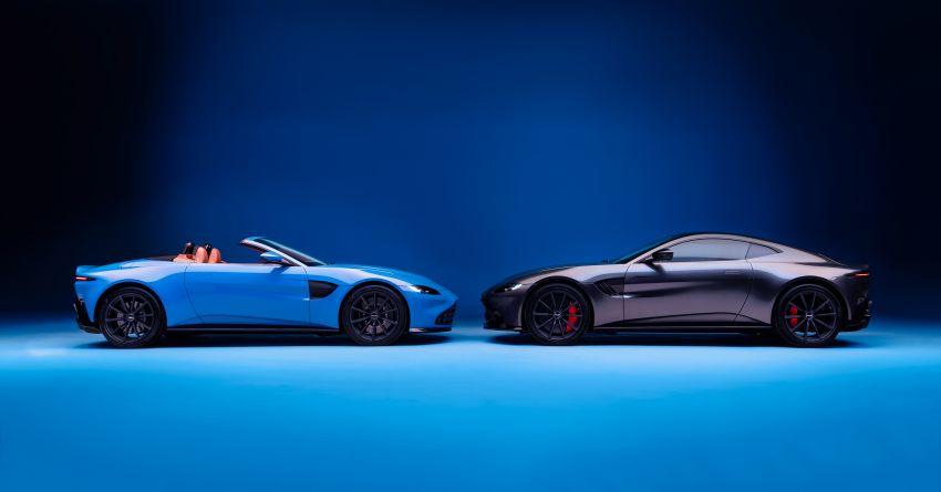 Aston Martin Vantage Roadster 2020 – guna enjin V8 twin turbo 4.0 liter, kuasa 510 PS dan tork 685 Nm Image #1081365