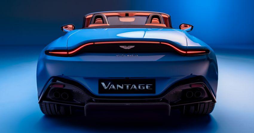 Aston Martin Vantage Roadster 2020 – guna enjin V8 twin turbo 4.0 liter, kuasa 510 PS dan tork 685 Nm Image #1081362