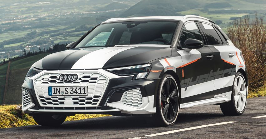 2020 Audi A3 – fourth-gen model to debut in Geneva, features fully variable quattro AWD, adaptive dampers Image #1078906