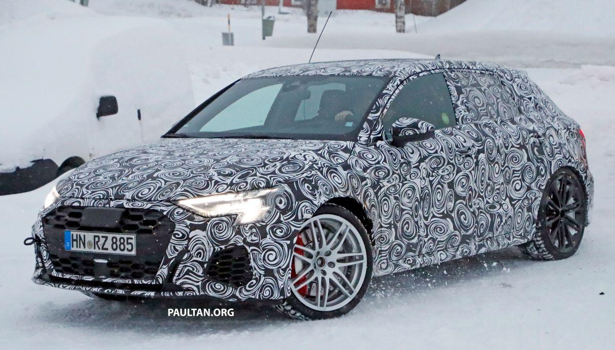 SPYSHOTS: 2020 Audi RS3 viewed working frigid weather assessments thumbnail