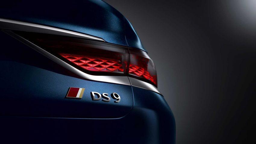 DS9 flagship sedan revealed – global plug-in hybrid Image #1086490