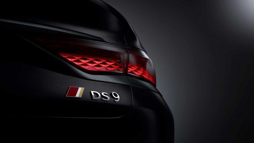 DS9 flagship sedan revealed – global plug-in hybrid Image #1086499