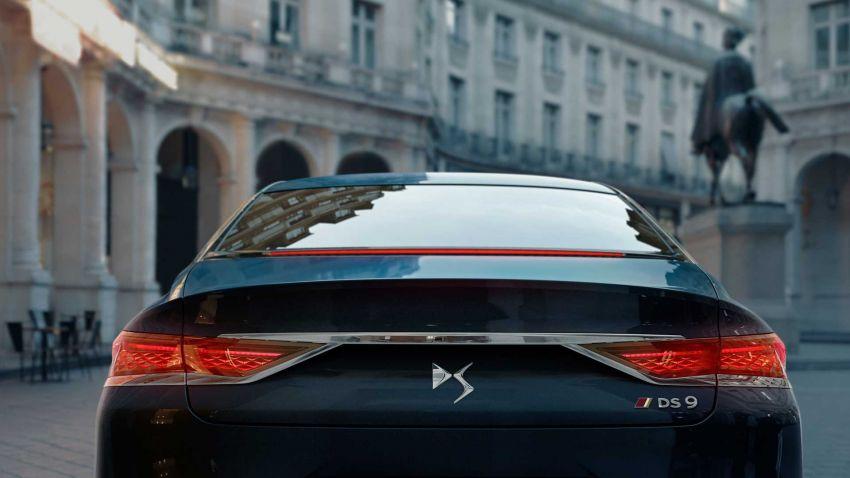 DS9 flagship sedan revealed – global plug-in hybrid Image #1086384