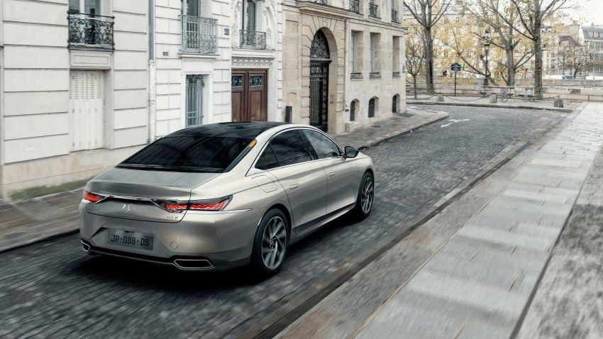 DS9 flagship sedan revealed – global plug-in hybrid Image #1086387