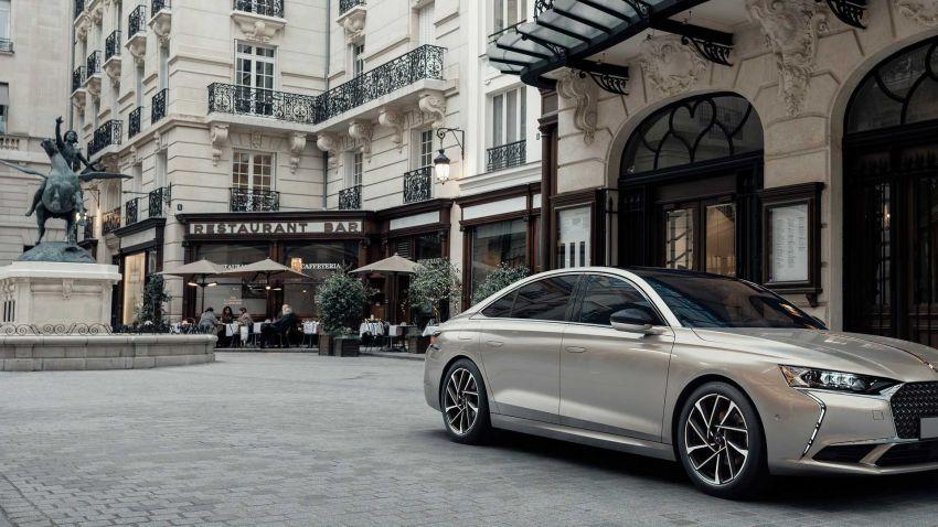 DS9 flagship sedan revealed – global plug-in hybrid Image #1086388