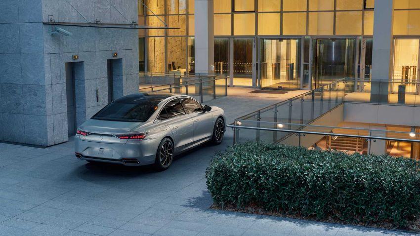 DS9 flagship sedan revealed – global plug-in hybrid Image #1086395