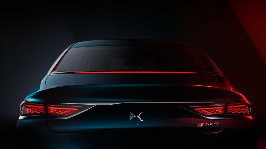 DS9 flagship sedan revealed – global plug-in hybrid Image #1086397