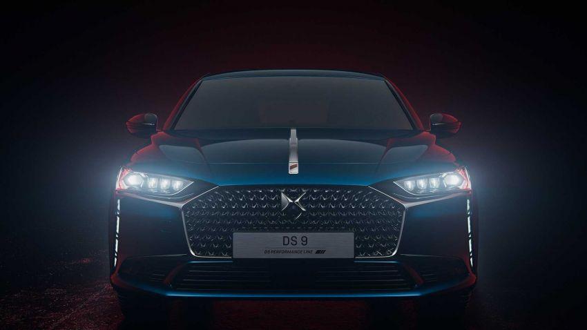 DS9 flagship sedan revealed – global plug-in hybrid Image #1086398