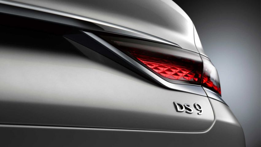 DS9 flagship sedan revealed – global plug-in hybrid Image #1086427