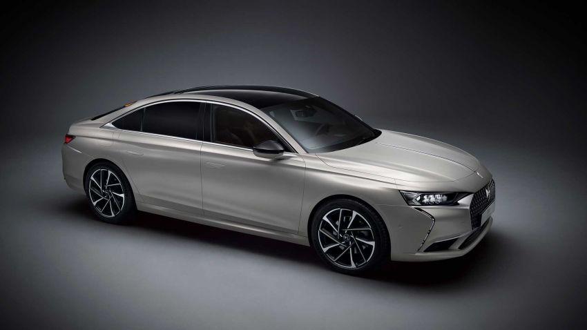 DS9 flagship sedan revealed – global plug-in hybrid Image #1086482