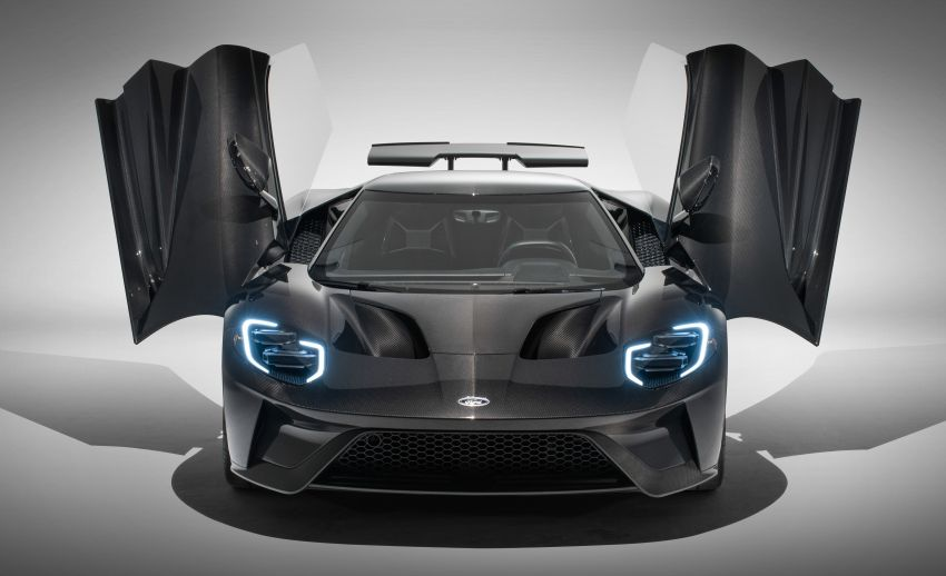 2020 Ford GT adds more power, Liquid Carbon edition Image #1078355