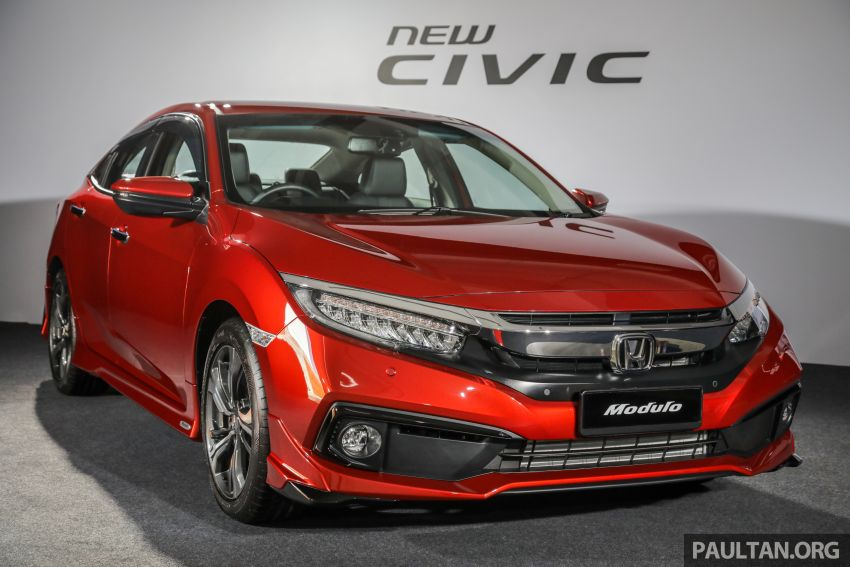 2020 Honda Civic facelift debuts in Malaysia – three variants, 1.8 NA and 1.5 Turbo, RM114k to RM140k Image #1087484