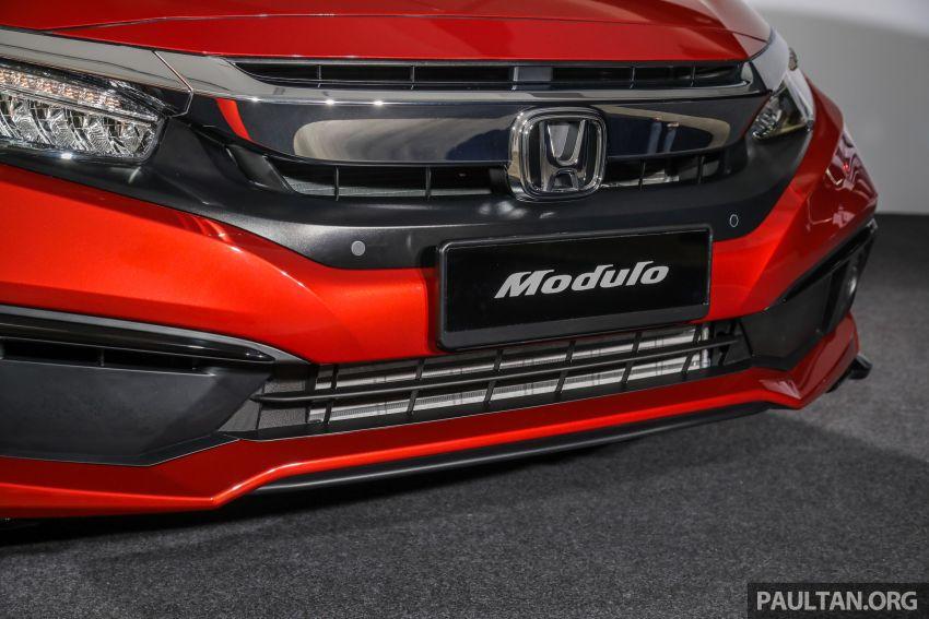 Honda Civic 2020 diperkenalkan secara rasmi di M'sia – dengan Honda Sensing, harga bermula RM113,600 Image #1087689
