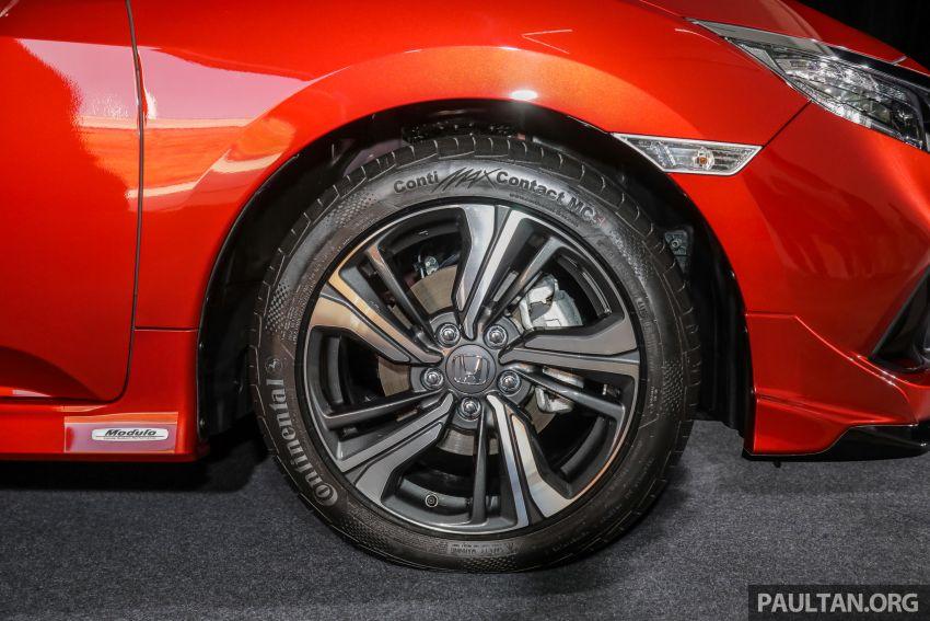 Honda Civic 2020 diperkenalkan secara rasmi di M'sia – dengan Honda Sensing, harga bermula RM113,600 Image #1087690