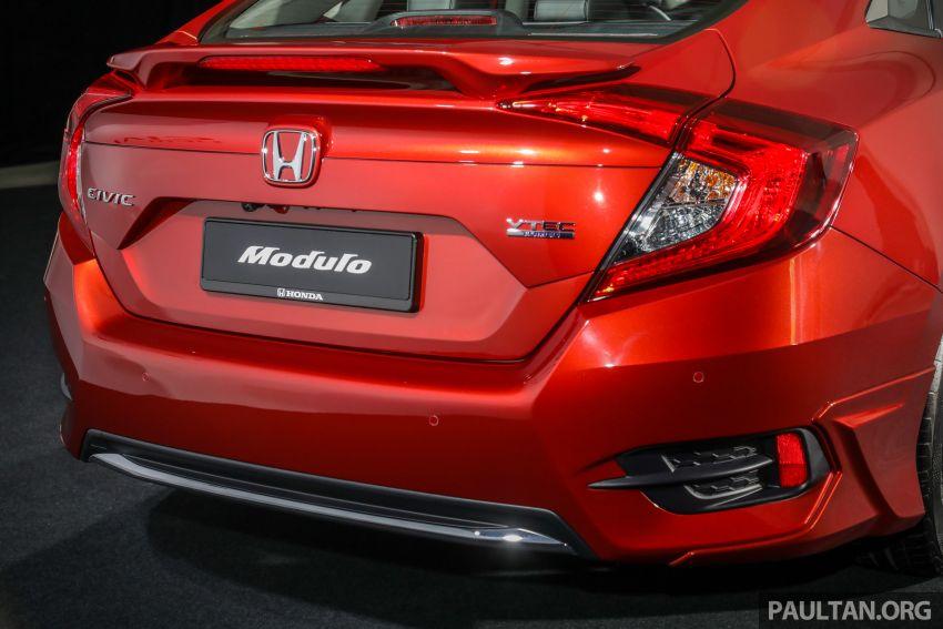 Honda Civic 2020 diperkenalkan secara rasmi di M'sia – dengan Honda Sensing, harga bermula RM113,600 Image #1087694