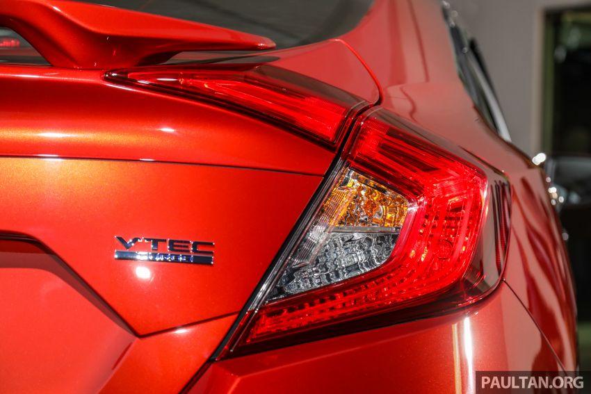 Honda Civic 2020 diperkenalkan secara rasmi di M'sia – dengan Honda Sensing, harga bermula RM113,600 Image #1087695