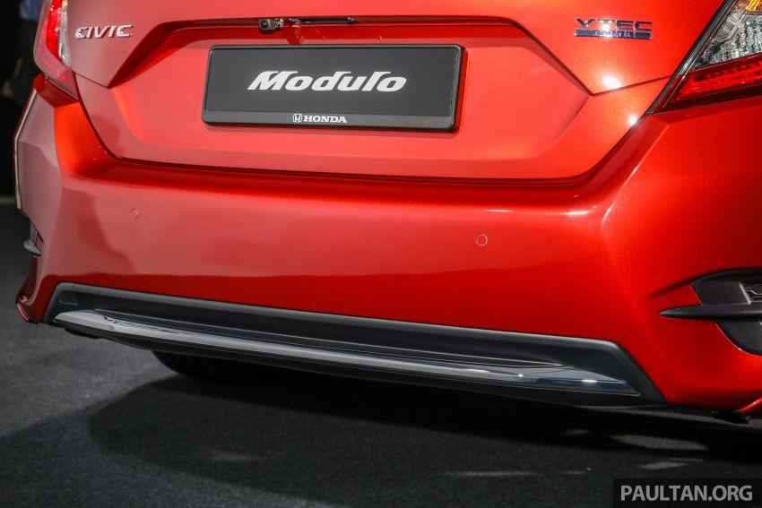Honda Civic 2020 diperkenalkan secara rasmi di M'sia – dengan Honda Sensing, harga bermula RM113,600 Image #1087698