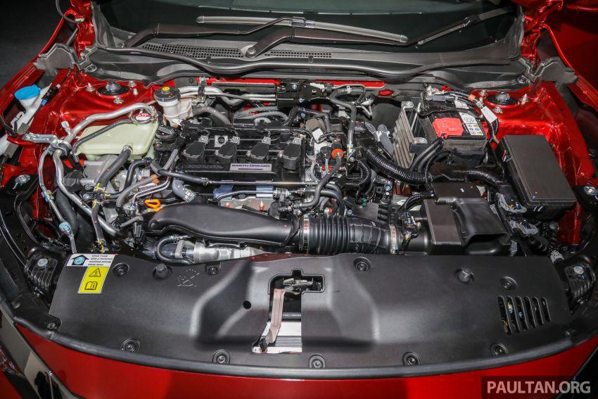 Honda Civic 2020 diperkenalkan secara rasmi di M'sia – dengan Honda Sensing, harga bermula RM113,600 Image #1087699