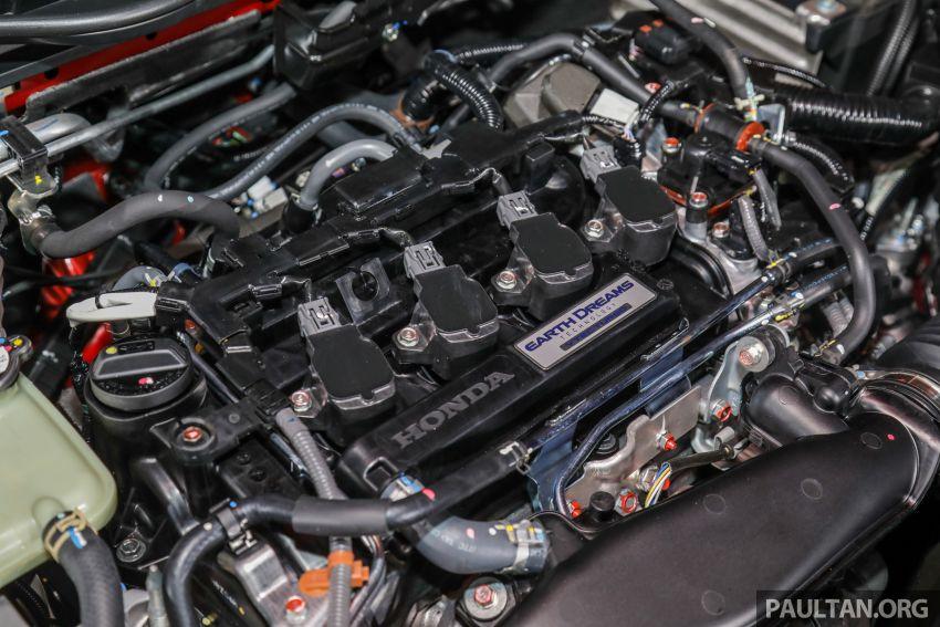 2020 Honda Civic facelift debuts in Malaysia – three variants, 1.8 NA and 1.5 Turbo, RM114k to RM140k Image #1087507