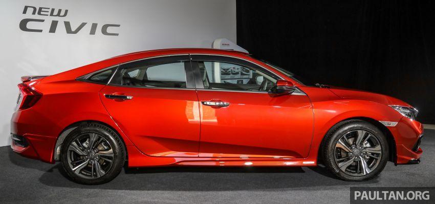 Honda Civic 2020 diperkenalkan secara rasmi di M'sia – dengan Honda Sensing, harga bermula RM113,600 Image #1087682