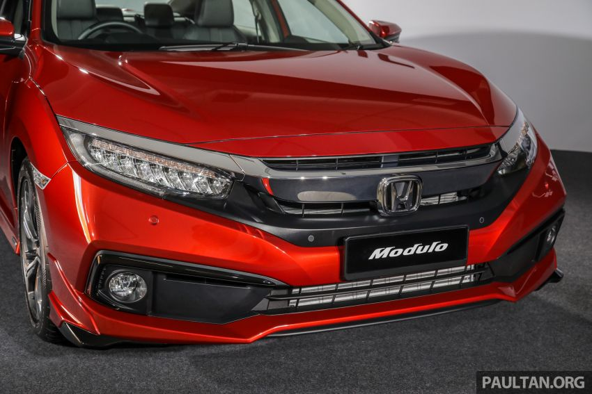 Honda Civic 2020 diperkenalkan secara rasmi di M'sia – dengan Honda Sensing, harga bermula RM113,600 Image #1087685