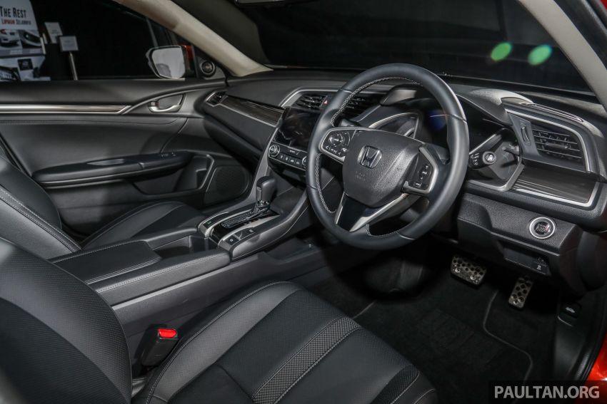 Honda Civic 2020 diperkenalkan secara rasmi di M'sia – dengan Honda Sensing, harga bermula RM113,600 Image #1087702