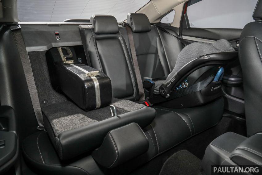 Honda Civic 2020 diperkenalkan secara rasmi di M'sia – dengan Honda Sensing, harga bermula RM113,600 Image #1087708