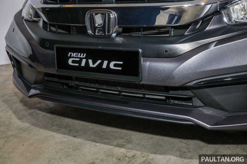 2020 Honda Civic facelift debuts in Malaysia – three variants, 1.8 NA and 1.5 Turbo, RM114k to RM140k Image #1087548