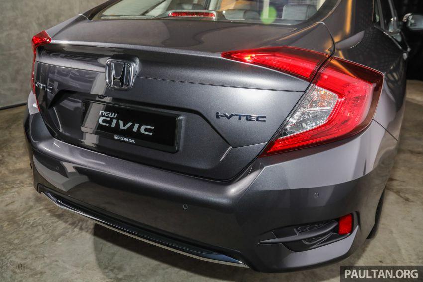 2020 Honda Civic facelift debuts in Malaysia – three variants, 1.8 NA and 1.5 Turbo, RM114k to RM140k Image #1087552