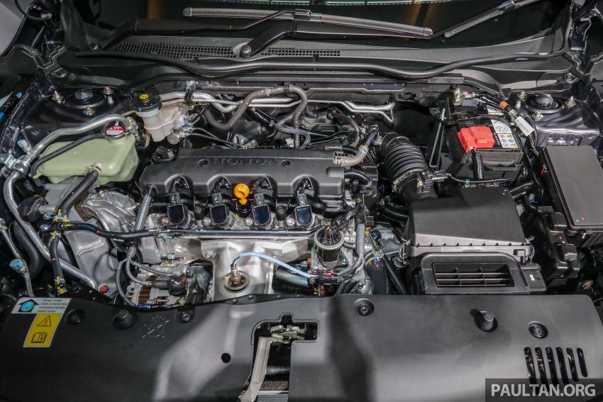 Honda Civic 2020 diperkenalkan secara rasmi di M'sia – dengan Honda Sensing, harga bermula RM113,600 Image #1087744