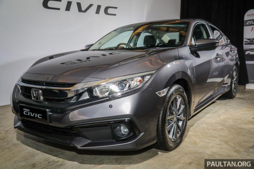 Honda Civic 2020 diperkenalkan secara rasmi di M'sia – dengan Honda Sensing, harga bermula RM113,600 Image #1087727