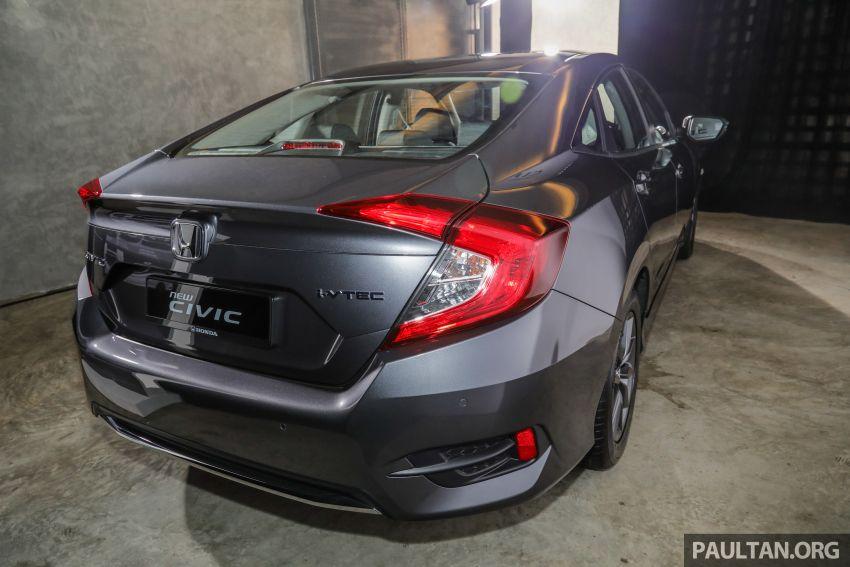 Honda Civic 2020 diperkenalkan secara rasmi di M'sia – dengan Honda Sensing, harga bermula RM113,600 Image #1087728