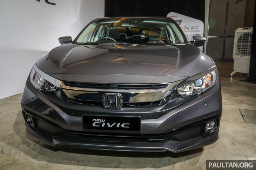 2020 Honda Civic facelift debuts in Malaysia – three variants, 1.8 NA and 1.5 Turbo, RM114k to RM140k Image #1087539