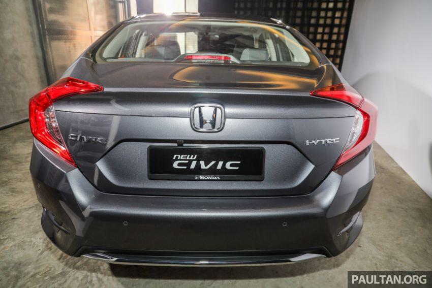 2020 Honda Civic facelift debuts in Malaysia – three variants, 1.8 NA and 1.5 Turbo, RM114k to RM140k Image #1087540