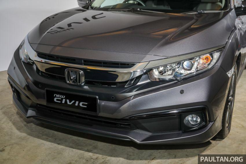 Honda Civic 2020 diperkenalkan secara rasmi di M'sia – dengan Honda Sensing, harga bermula RM113,600 Image #1087732