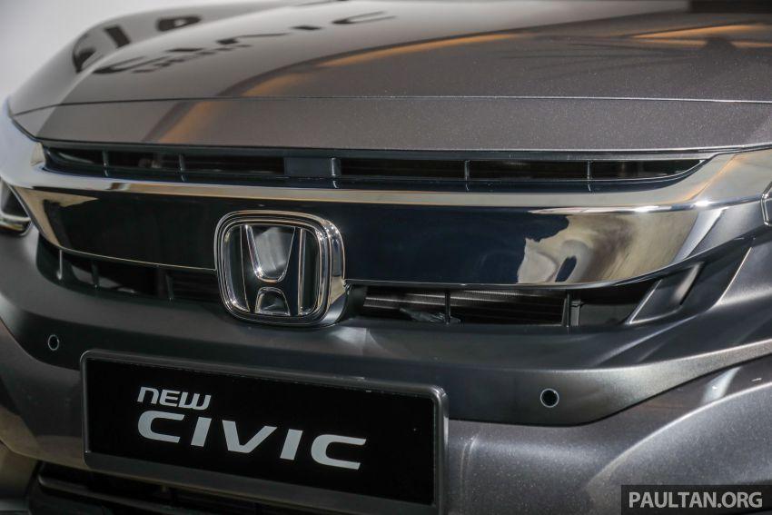 Honda Civic 2020 diperkenalkan secara rasmi di M'sia – dengan Honda Sensing, harga bermula RM113,600 Image #1087736