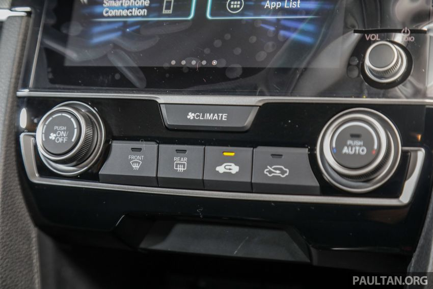 Honda Civic 2020 diperkenalkan secara rasmi di M'sia – dengan Honda Sensing, harga bermula RM113,600 Image #1087756