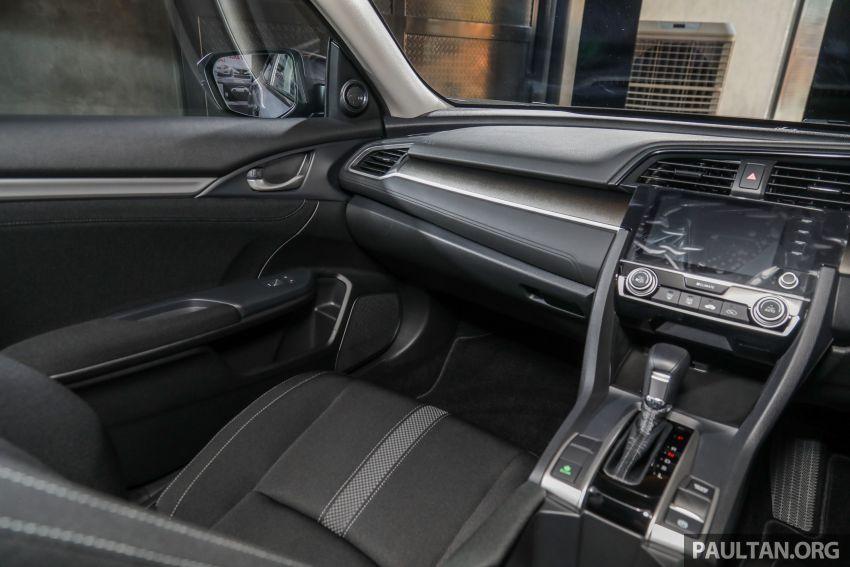 Honda Civic 2020 diperkenalkan secara rasmi di M'sia – dengan Honda Sensing, harga bermula RM113,600 Image #1087760