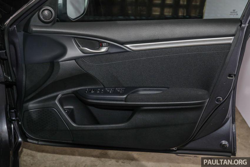 Honda Civic 2020 diperkenalkan secara rasmi di M'sia – dengan Honda Sensing, harga bermula RM113,600 Image #1087766