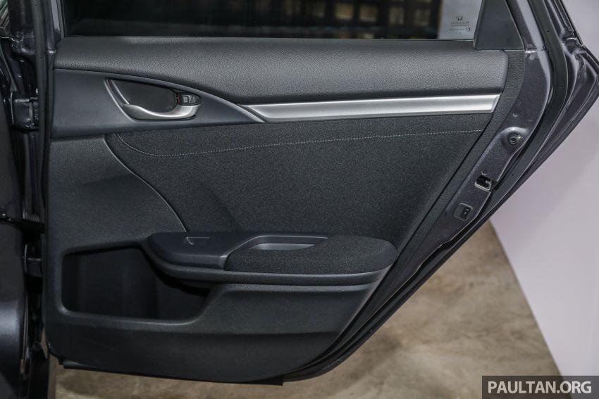 Honda Civic 2020 diperkenalkan secara rasmi di M'sia – dengan Honda Sensing, harga bermula RM113,600 Image #1087771