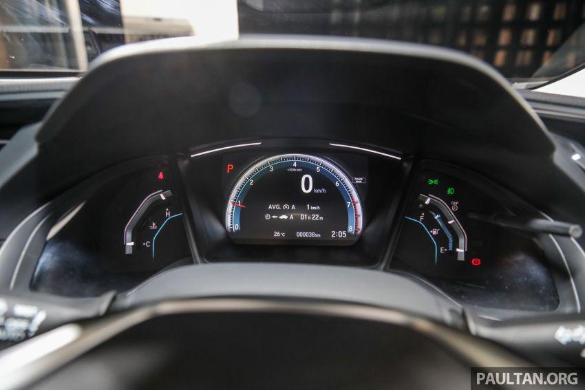 2020 Honda Civic facelift debuts in Malaysia – three variants, 1.8 NA and 1.5 Turbo, RM114k to RM140k Image #1087571