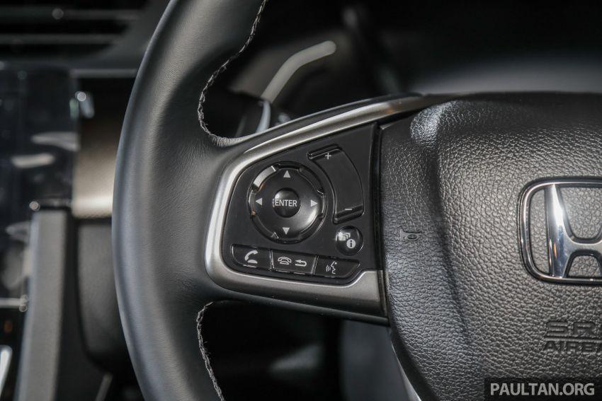 Honda Civic 2020 diperkenalkan secara rasmi di M'sia – dengan Honda Sensing, harga bermula RM113,600 Image #1087751