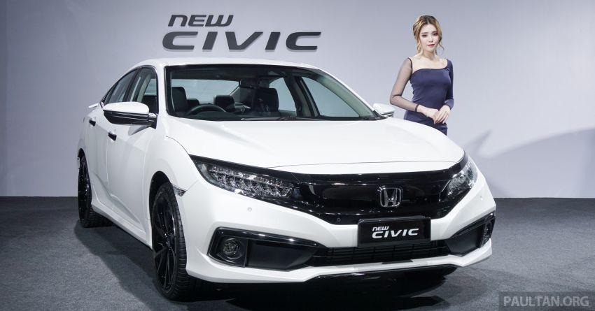 2020 Honda Civic facelift debuts in Malaysia – three variants, 1.8 NA and 1.5 Turbo, RM114k to RM140k Image #1087334