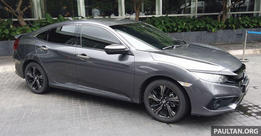 DRIVEN: 2020 Honda Civic facelift – same, but more Image #1086993